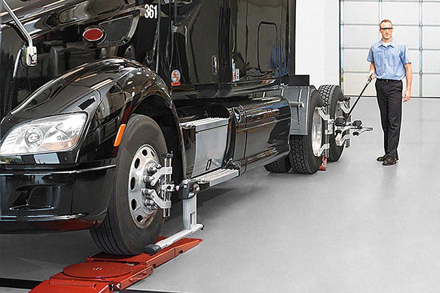 alinhamento e balanceamento de caminhões