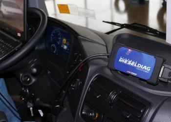 Quais informações podem ser obtidas com um scanner diesel?